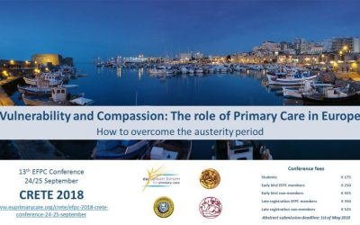 ORAMMA team participation in the EFPC Conference on 24-25 September in Crete